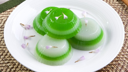 Pandan khanom chan thai steamed two tone layered cake serves 4 to back to pdf forumfinder Image collections