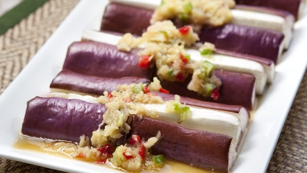 Steamed eggplant with minced ginger serves 2 to 3 back to pdf forumfinder Images